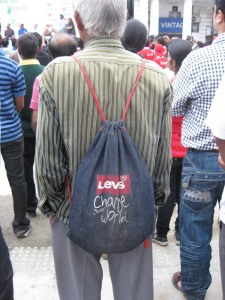 Example bag at the rally