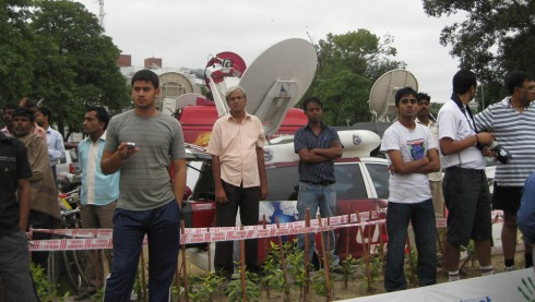 media at Go India! Go for Gold! Campaign