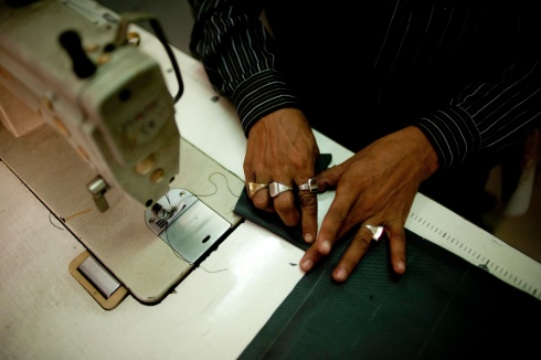 Conserve India production - precision sewing