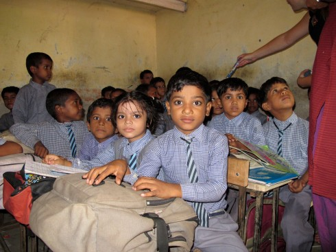 Conserve India's school project